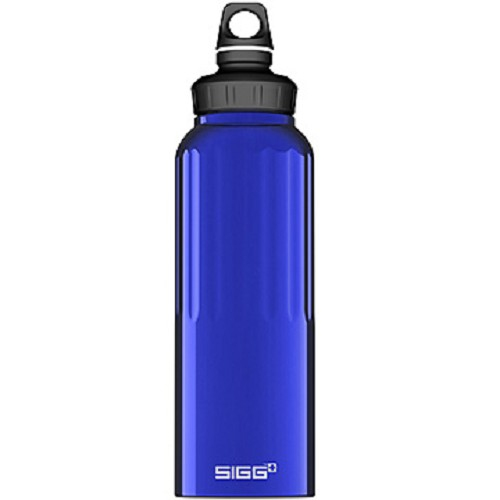 SIGG Water Bottle WMB Traveler 1500ml [SIG150825610] - Dark Blue - Sport Water Bottle / Botol Minum